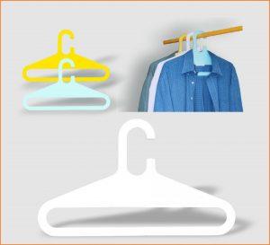 Kleiderbügel LUZI als Werbeartikel mit Logo im PRESIT Online-Shop bedrucken lassen