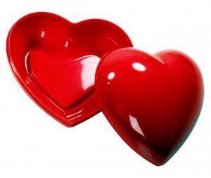 Box in Herzform HEART-BOXX als Werbeartikel mit Logo im PRESIT Online-Shop bedrucken lassen