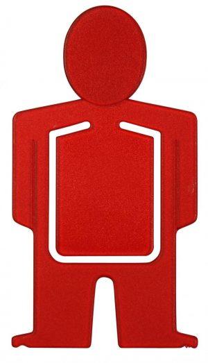 Notizklammer Lesezeichen KLAMMER-MANN als Werbeartikel mit Logo im PRESIT Online-Shop bedrucken lassen