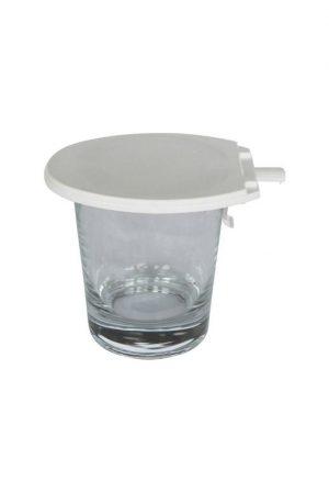 Glasabdeckung WC-Deckel-Form WC als Werbeartikel mit Logo im PRESIT Online-Shop bedrucken lassen
