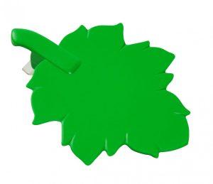 Glasabdeckung in Blattform mit Clip BLATT als Werbeartikel mit Logo im PRESIT Online-Shop bedrucken lassen
