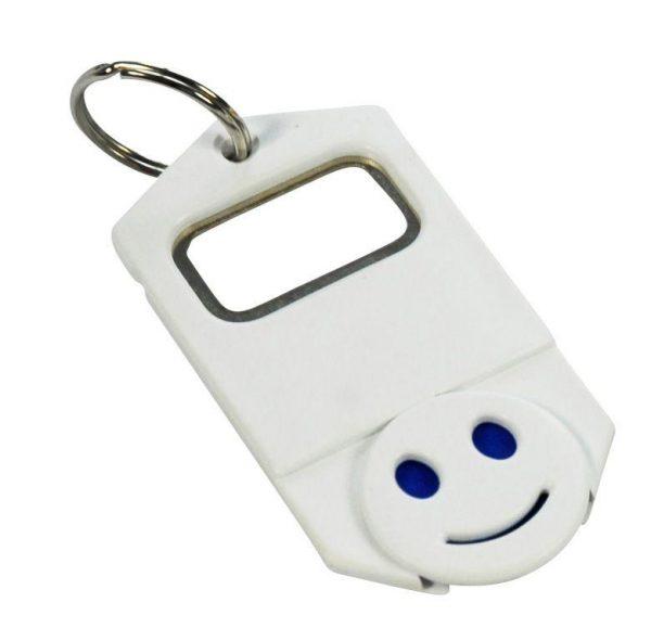 Flaschenöffner Schlüsselanhänger + Chip RASTELLI als Werbeartikel mit Logo im PRESIT Online-Shop bedrucken lassen