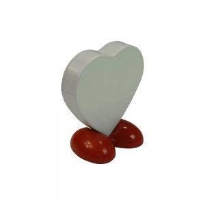 Flaschenöffner in Herzform POWER OF LOVE als Werbeartikel mit Logo im PRESIT Online-Shop bedrucken lassen