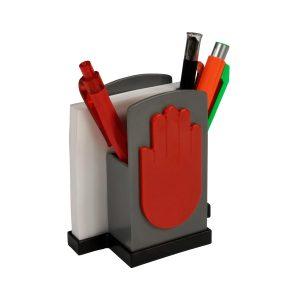 Köcher Zettelbox Handwerk als Werbeartikel mit Logo im PRESIT Online-Shop bedrucken lassen