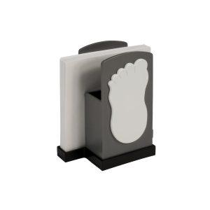 Köcher Zettelbox Per Pedes als Werbeartikel mit Logo im PRESIT Online-Shop bedrucken lassen