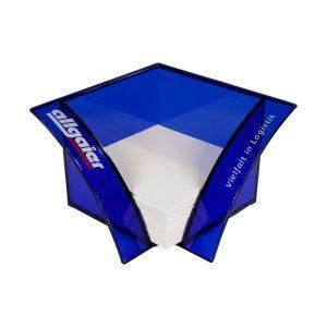 Design-Zettelbox RHONE als Werbeartikel mit Logo im PRESIT Online-Shop bedrucken lassen