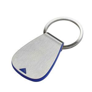 Einkaufswagenchiphalter REFLECTS-AGUDOS BLUE als Werbeartikel mit Logo im PRESIT Online-Shop bedrucken lassen