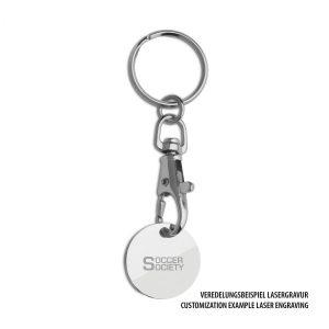 Einkaufswagenchip REFLECTS-CULLEREDO als Werbeartikel mit Logo im PRESIT Online-Shop bedrucken lassen