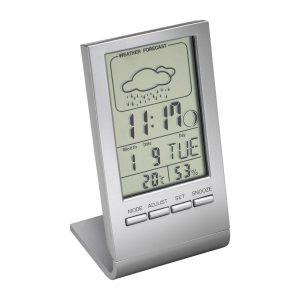 Alarmuhr mit Thermometer REEVES-DRANFIELD als Werbeartikel mit Logo im PRESIT Online-Shop bedrucken lassen