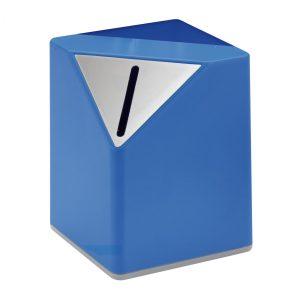 Spardose REFLECTS-BARBATE BLUE als Werbeartikel mit Logo im PRESIT Online-Shop bedrucken lassen