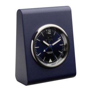 Alarmuhr LOLLICLOCK-ALARM BLUE als Werbeartikel mit Logo im PRESIT Online-Shop bedrucken lassen