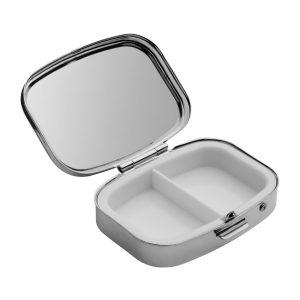 Pillendose REFLECTS-POSADAS als Werbeartikel mit Logo im PRESIT Online-Shop bedrucken lassen