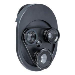 Aufsetzbares Fotolinsen Set REFLECTS-DALAMAN als Werbeartikel mit Logo im PRESIT Online-Shop bedrucken lassen