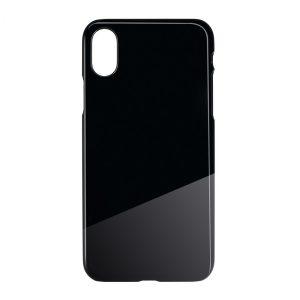 Smartphonecover REFLECTS-COVER iPhone XS Max BLACK als Werbeartikel mit Logo im PRESIT Online-Shop bedrucken lassen