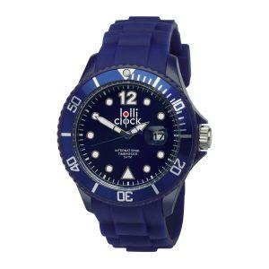 Armbanduhr LOLLICLOCK-DATE BLUE als Werbeartikel mit Logo im PRESIT Online-Shop bedrucken lassen
