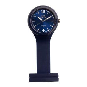 Uhr LOLLICLOCK-CARE BLUE als Werbeartikel mit Logo im PRESIT Online-Shop bedrucken lassen