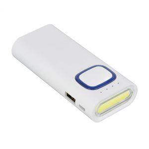 Powerbank mit COB LED Taschenlampe REFLECTS-COLLECTION 500 als Werbeartikel mit Logo im PRESIT Online-Shop bedrucken lassen
