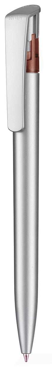 Kugelschreiber ALL-STAR SILVER als Werbeartikel mit Logo im PRESIT Online-Shop bedrucken lassen