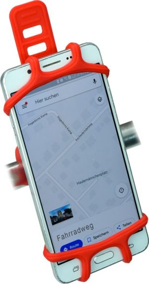 Smartphone-Halter Fahrrad Landkarte