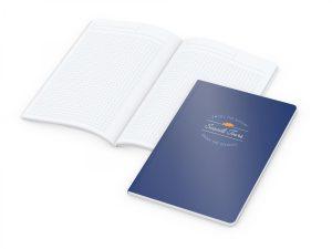 Copy-Book White A5 x.press als Werbeartikel mit Logo im PRESIT Online-Shop bedrucken lassen