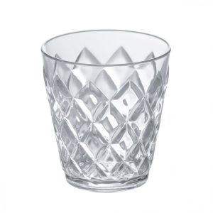Koziol CRYSTAL S Glas 250ml als Werbeartikel mit Logo im PRESIT Online-Shop bedrucken lassen