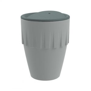 Koziol CONNECT Becher Cappuccino 300ml mit Deckel als Werbeartikel mit Logo im PRESIT Online-Shop bedrucken lassen