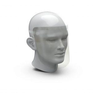 Gesichtsschutz einfach