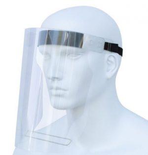 Gesichtsvisier_größenverstellbar_Gummiband_PET Kunststoff_WER_GmbH