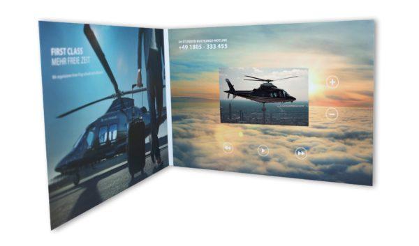 """4,5"""" VIDEOcard – Werbeartikel im PRESIT Online-Shop mit Logo bedrucken lassen"""