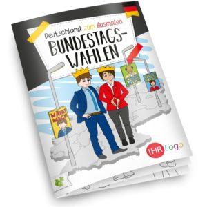 Malbuch Bundestagswahl – Werbeartikel im PRESIT Online-Shop mit Logo bedrucken lassen