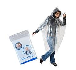 Regenponchos als Werbeartikel bedrucken