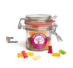 Süßigkeitenspender ohne Inhalt als Werbeartikel bedrucken