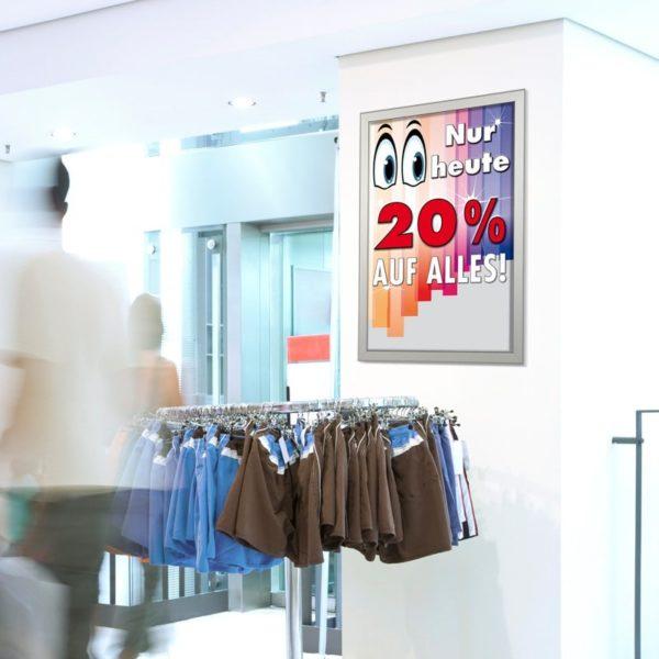 Wechselrahmen mit Gehrung – Werbeartikel im PRESIT Online-Shop mit Logo bedrucken lassen