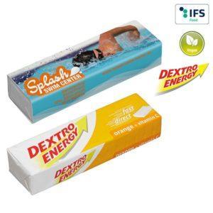 DEXTRO ENERGY Stange - Orange + Vitamin C als Werbeartikel mit Logo im PRESIT Online-Shop bedrucken lassen