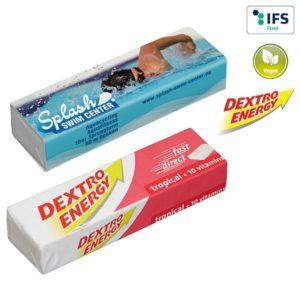 DEXTRO ENERGY Stange - Tropical + 10 Vitamine als Werbeartikel mit Logo im PRESIT Online-Shop bedrucken lassen