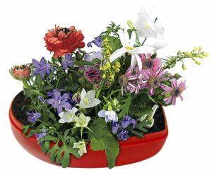 Blumen-Herz als Werbeartikel mit Logo im PRESIT Online-Shop bedrucken lassen