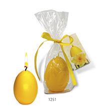 Ei-Kerze - Frohe Ostern als Werbeartikel mit Logo im PRESIT Online-Shop bedrucken lassen