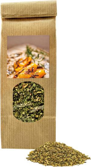 Kräuter & Gewürze XS Grill-Kräuter als Werbeartikel mit Logo im PRESIT Online-Shop bedrucken lassen