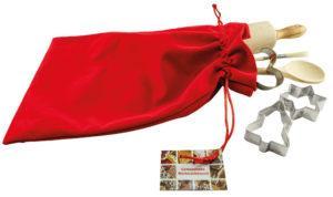 Backset im Samtsäckchen als Werbeartikel mit Logo im PRESIT Online-Shop bedrucken lassen