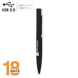 Detailansicht  – BND39 Uno 2in1 Metallkugelschreiber und USB2.0-Speicher *LAGERWARE*