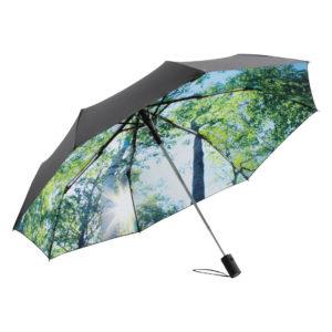 FARE AC-Mini-Taschenschirm FARE®-Nature als Werbeartikel mit Logo im PRESIT Online-Shop bedrucken lassen