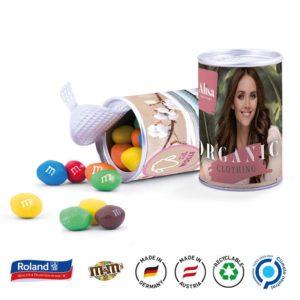 Papierdose Fresh Midi Apfel Cubes als Werbeartikel mit Logo im PRESIT Online-Shop bedrucken lassen