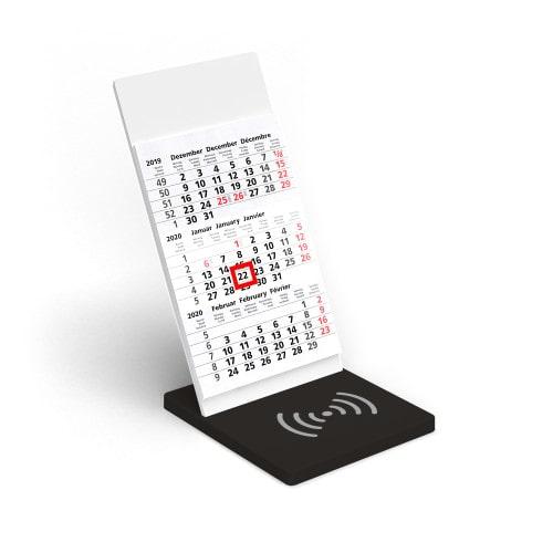 Wireless Charging Kalender VYNN® Basis Schwarz – Werbeartikel im PRESIT Online-Shop bedrucken lassen