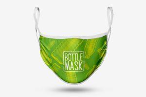 Gesichtsmaske Bottle Mask – Werbeartikel bedrucken lassen im PRESIT Online-Shop