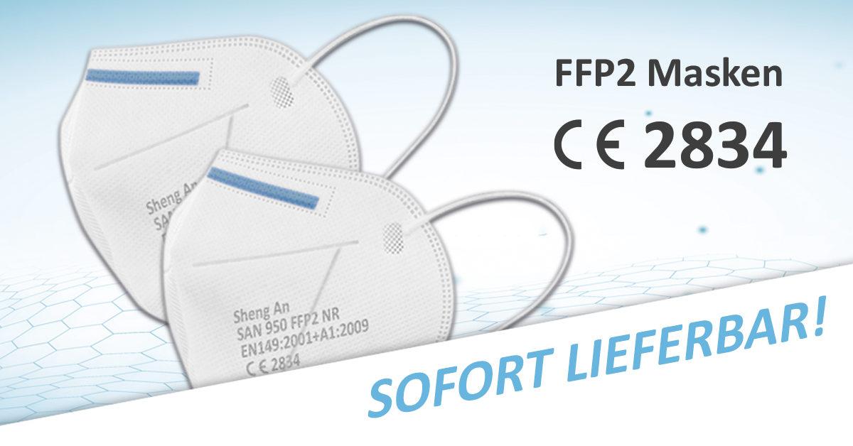 FFP2 Atemschutzmasken ab Lager Deutschland | PRESIT.de