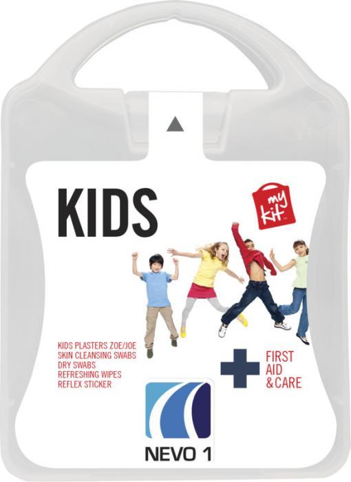 MyKit Kids mit Logo vorne – Werbeartikel im PRESIT Online-Shop bedrucken lassen