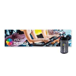 ActiveTowel® Sports Microfaser-Sporthandtuch 100x25 cm Spinning als Werbeartikel mit Logo im PRESIT Online-Shop bedrucken lassen