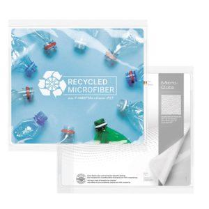 rPET GripCleaner® 4in1 Mousepad 23x20cm als Werbeartikel mit Logo im PRESIT Online-Shop bedrucken lassen