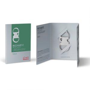 RICHARTZ POCKET ORGANIZER keys als Werbeartikel mit Logo im PRESIT Online-Shop bedrucken lassen