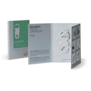 RICHARTZ POCKET ORGANIZER shop als Werbeartikel mit Logo im PRESIT Online-Shop bedrucken lassen